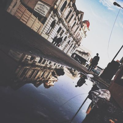 Puddleography at The Maboneng Precinct by Alessio La Ruffa