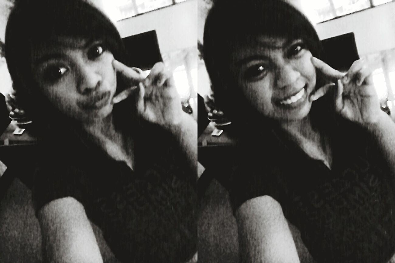 Take a shot and smile! 😊😊 ProudToBeMe Eye4black&white  🙈