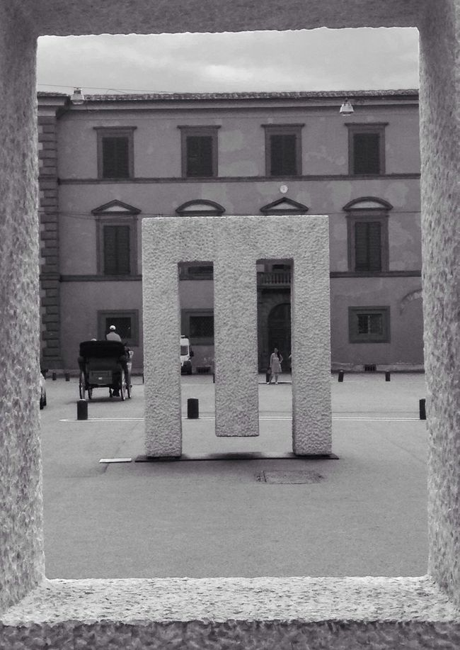 ⚫️⚪️ Pisa Italy Black & White Art
