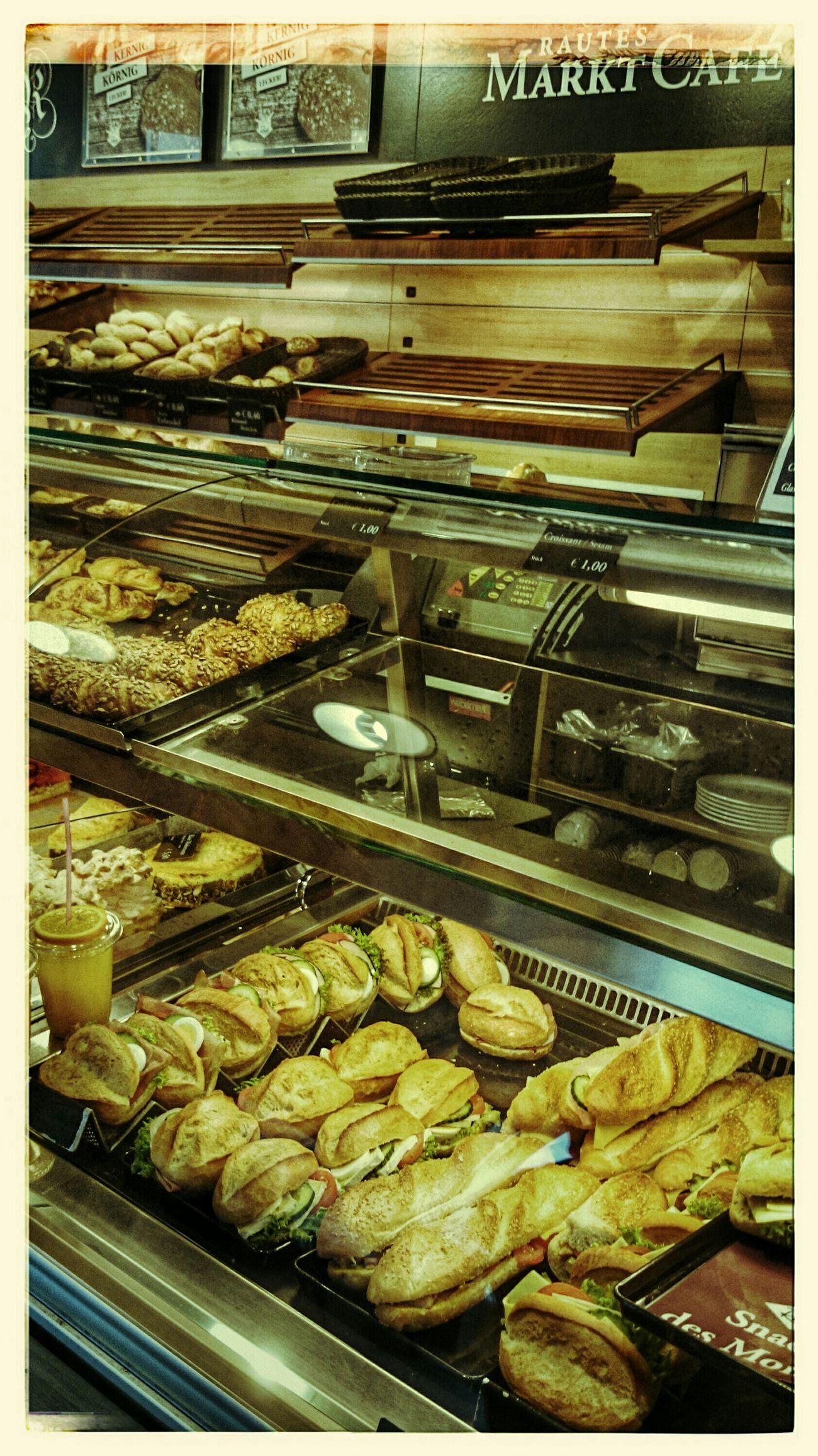 Frühstücksauswahl Kaffeepause Breakfast Belegte Brötchen Kuchen