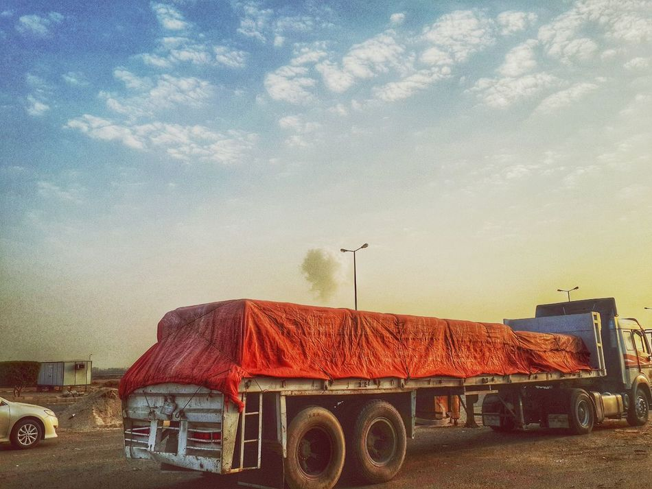 Beautiful stock photos of truck, Cloud - Sky, Commercial Land Vehicle, Day, Freight Transportation