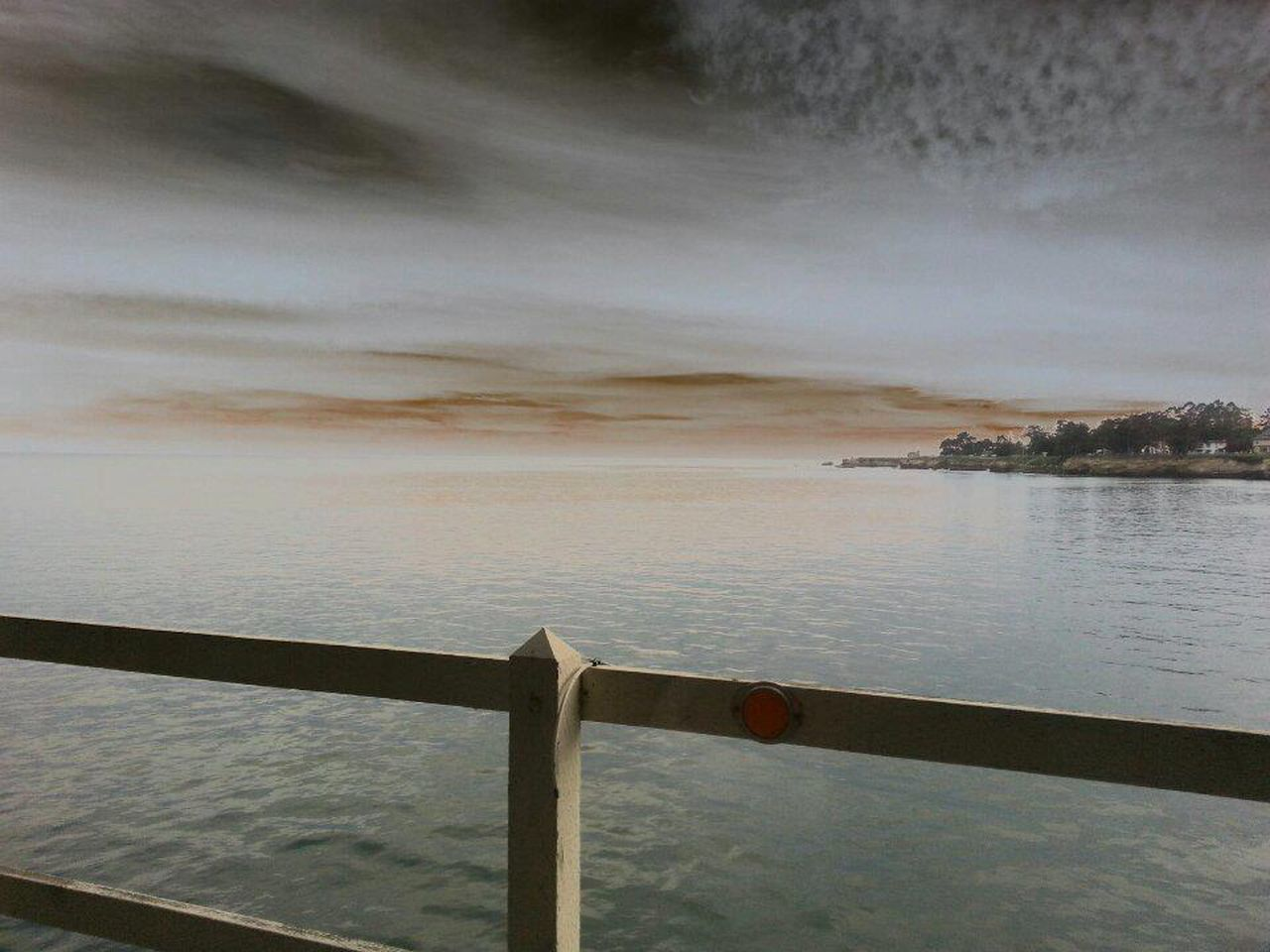 Surreal Vacation Boi-friend Adventure Pier Stormy Sky Bay Ocean Santa Cruz, Ca No Filter Fine Art Photography