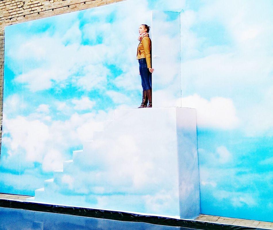 Sky And Clouds Trumanshow