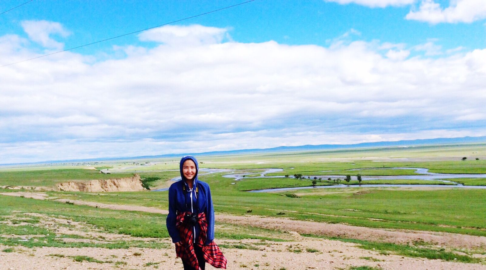 Summertime🌸 Mongoliancountryside LongRiver Widecountry Beautiful Nature