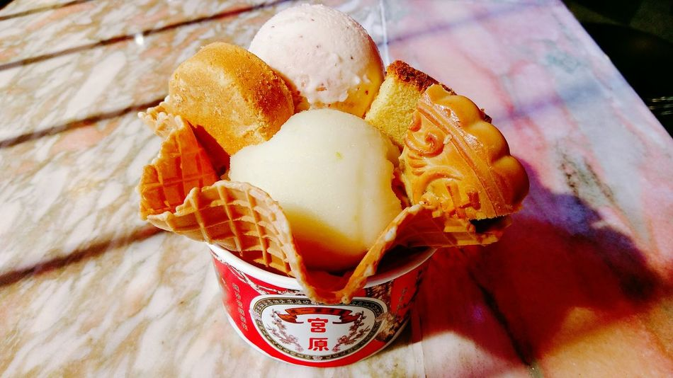 Icecream🍦 Tasty Taichung, Taiwan Taiwan Pinapplecake Cheese Cake Fruit