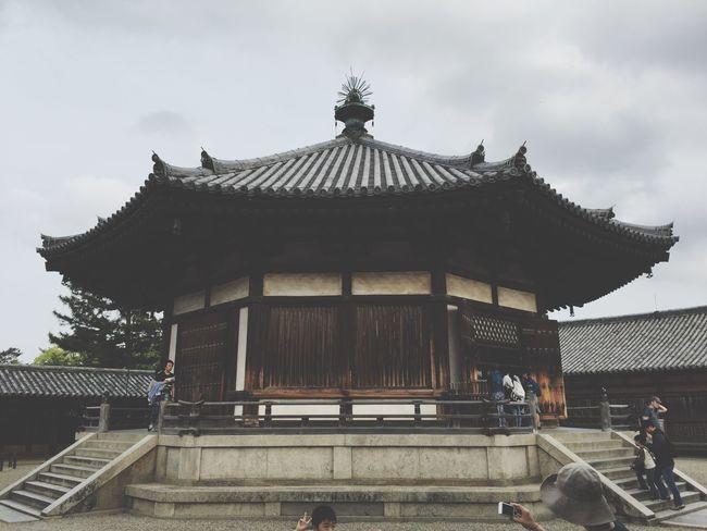 Nara Japanese Temple 奈良 寺 法隆寺 Japan 夢殿