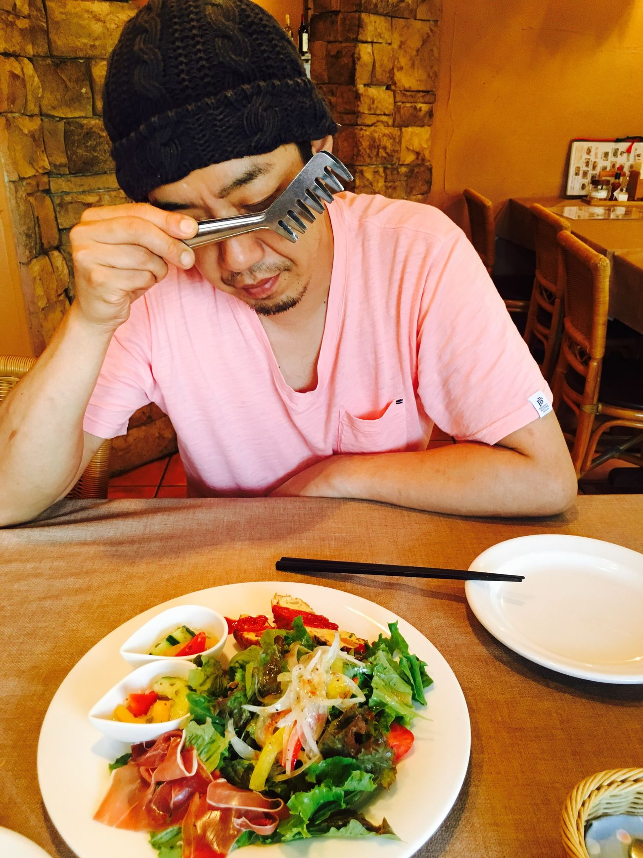 Cheese! Enjoying Life Relaxing Japan Boyfriend❤ Outing Sometimes :) On A Date Lunch Happy