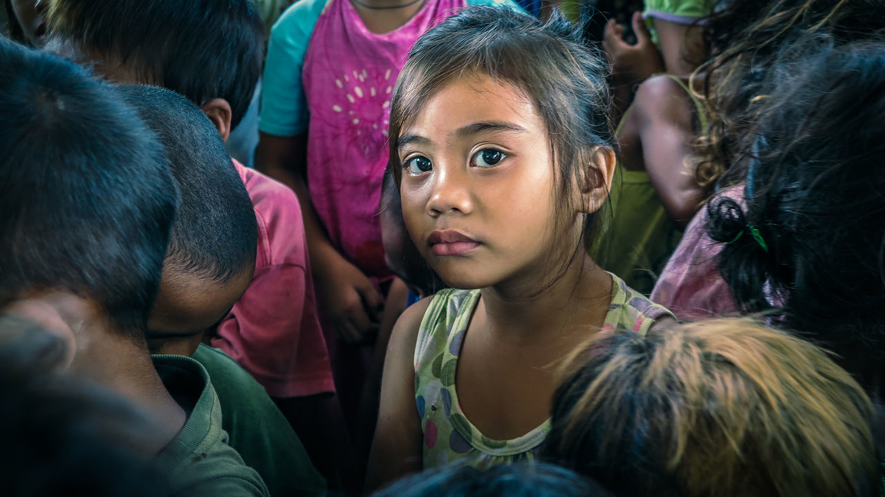 Asian Children Asian Girl Charity Children Children's Portraits Cute Filipino Help Innocence Innocent Little Girl Poor Kids Poverty Smiling Street Kids Third World Young Adult Young Women