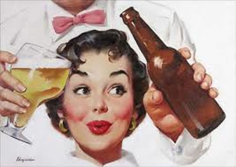 PinUpGirl One Beer LOL! Come On Baby