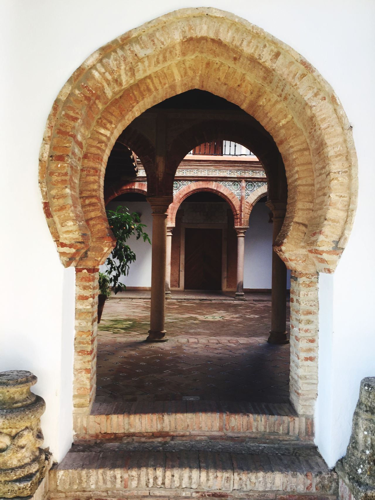 Arch Architecture Built Structure No People Day Archway Indoors  Ronda Arabic Al Andalus
