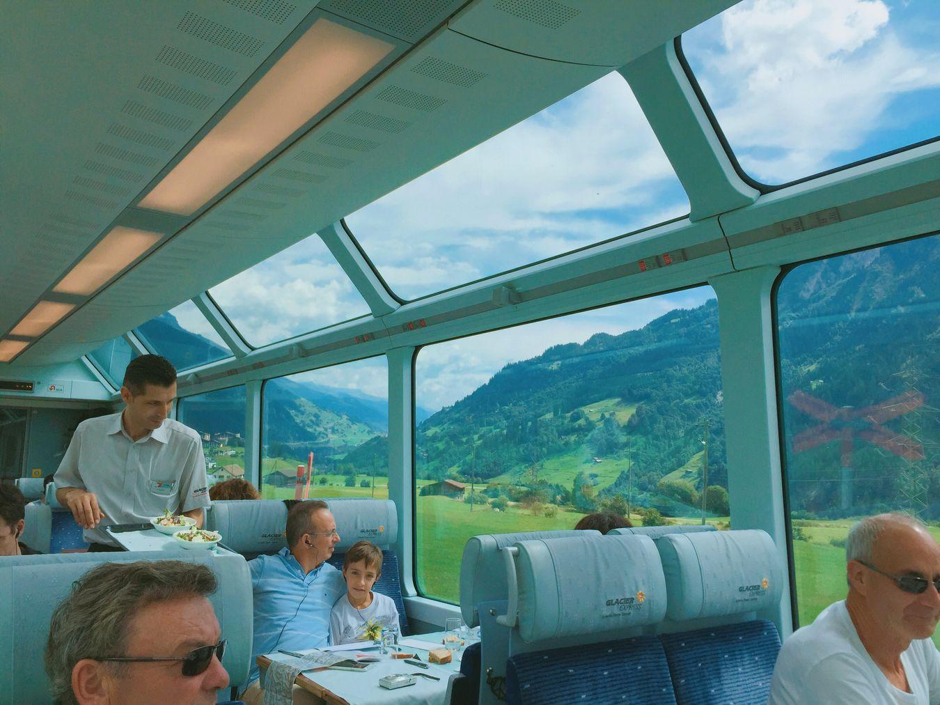 Glacier Express Train Switzerland Zermatt