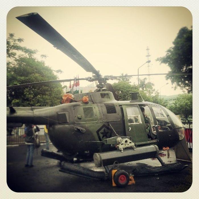 Mainan kecil untuk si Besar TNI KodamV Harijuang Surabaya Depanrumah