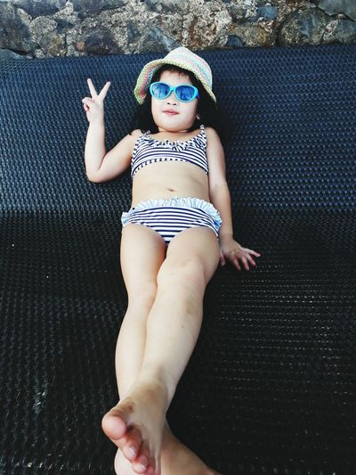 Live For The Story Barefoot One Person Baby Front View Childhood Summer Fun Beach Outdoors Vacations