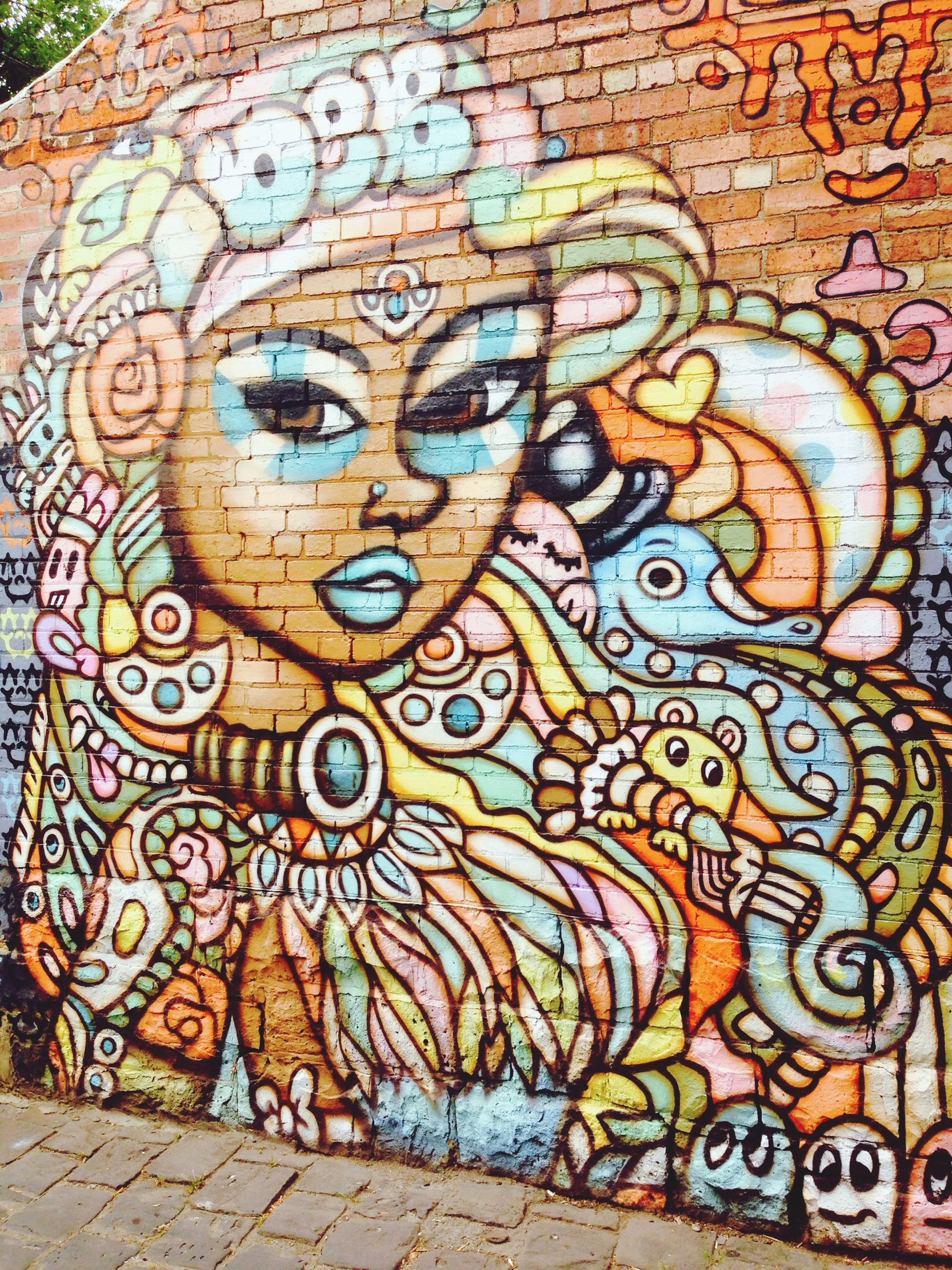 art, art and craft, creativity, design, pattern, wall - building feature, graffiti, architecture, indoors, built structure, floral pattern, full frame, ornate, multi colored, mural, backgrounds, wall, textured, no people, craft