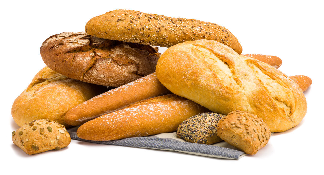 white background, food and drink, food, baked, studio shot, bread, no people, close-up, freshness, scone, ready-to-eat