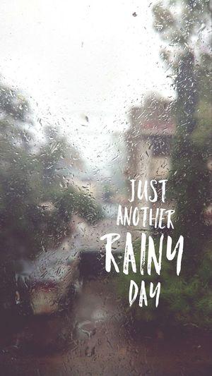 Rainy day Window No People Water Rainy Days Rainy Season Close-up Wet