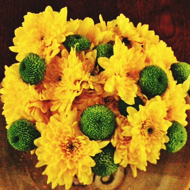 Loveflowers Yellow Flowers Homemade Homedecoration