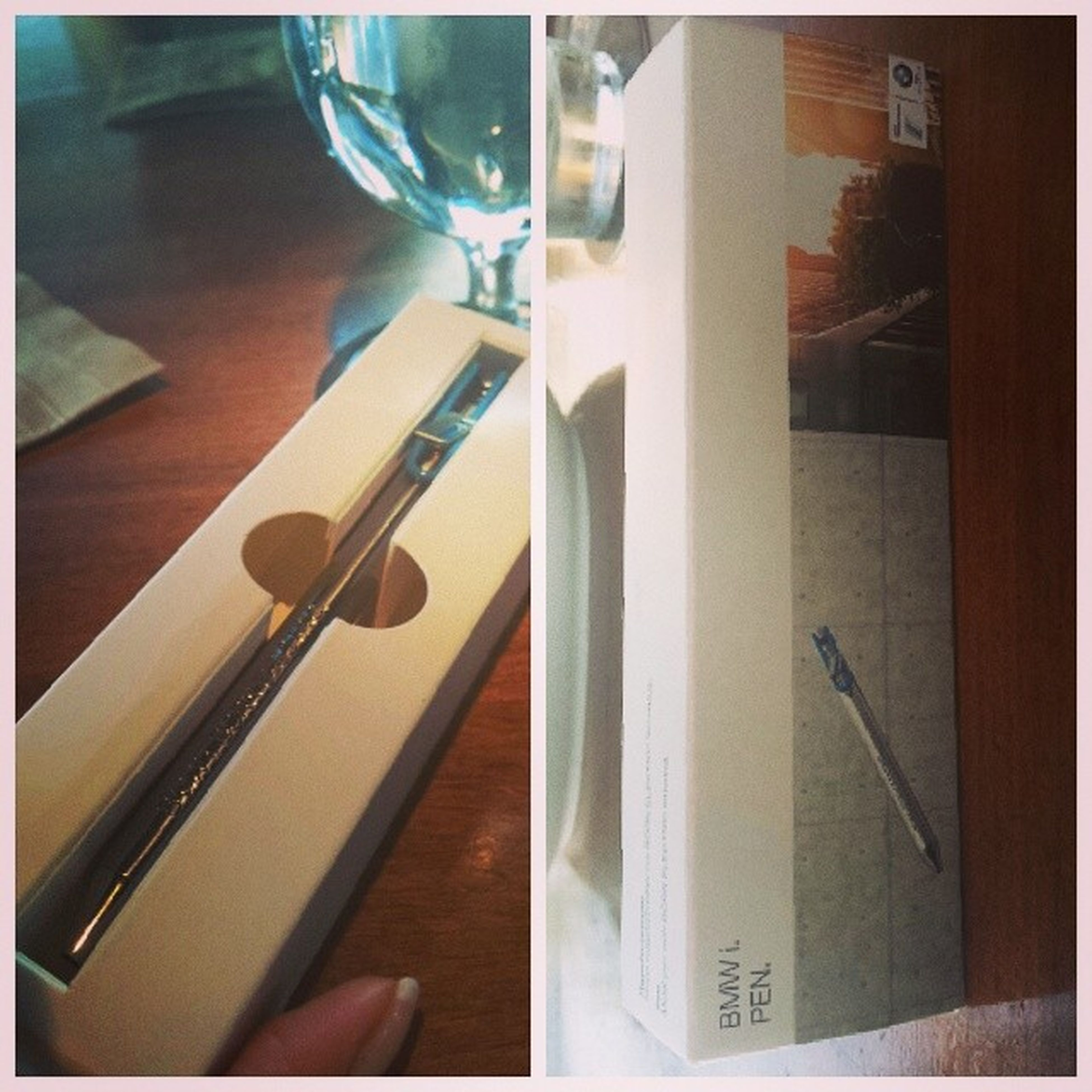 Here comes the lucky pen... Thanks BB♡ Bmw Bmwi Bmwaccessories
