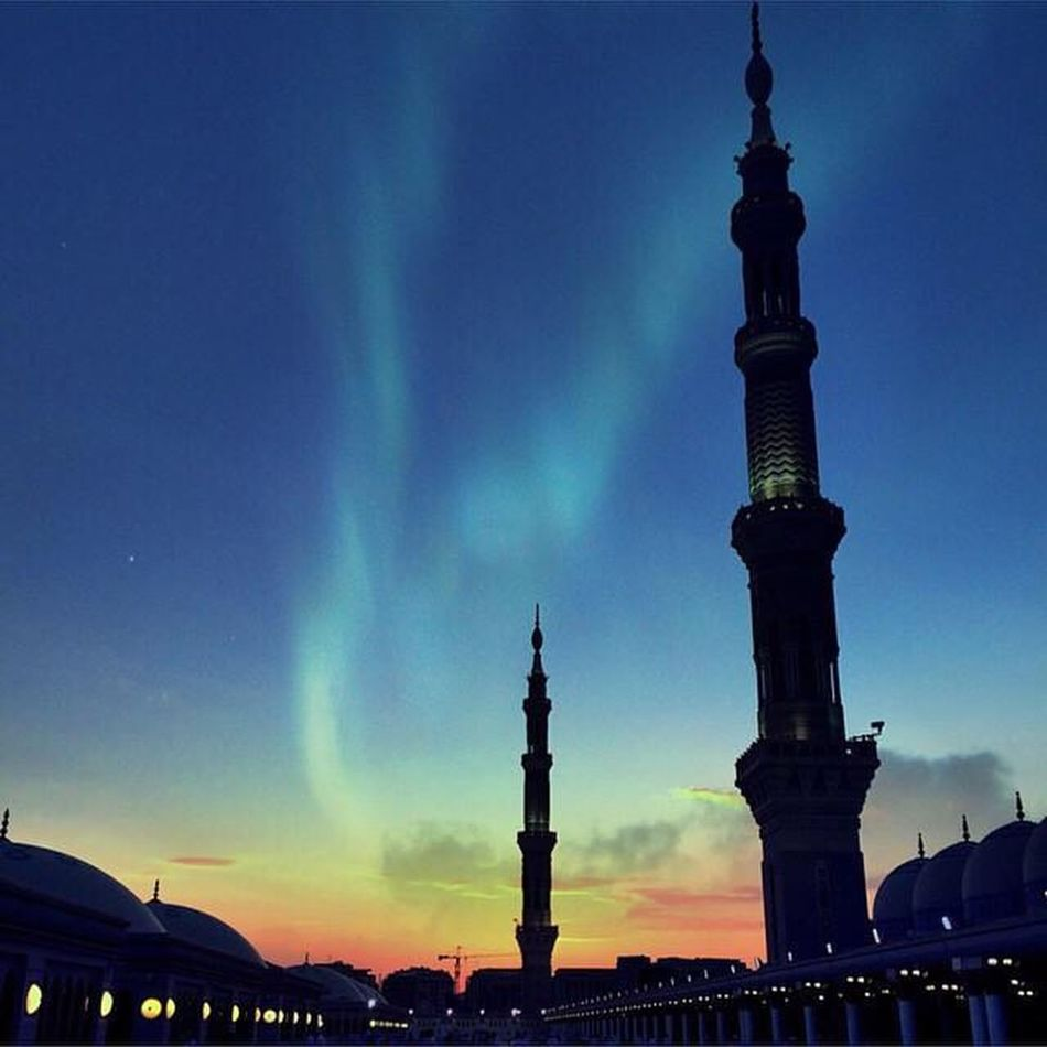 Tranquility Peace Medina SubhanAllah Beautiful Sky Who Is Muhammad S.A.W his home - Medina Hello World Check This Out Amazing