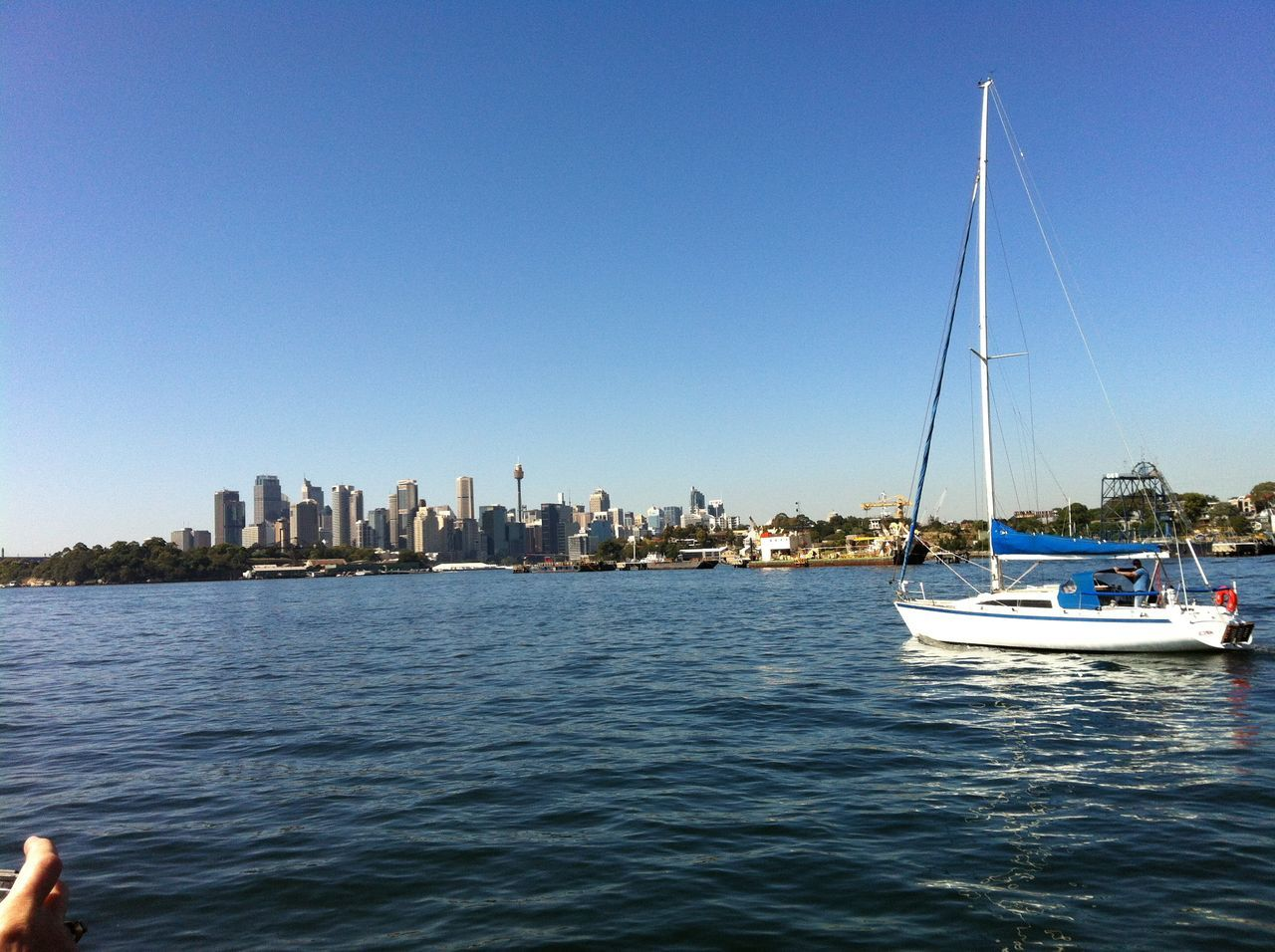 Photos of Sydney, Australia 2012 Architecture Building Exterior City Cityscape Clear Sky Day Mast Mode Of Transport Nature Nautical Vessel No People Outdoors Sailboat Sailing Sea Sky Skyscraper Transportation Urban Skyline Water Waterfront Yacht Yachting