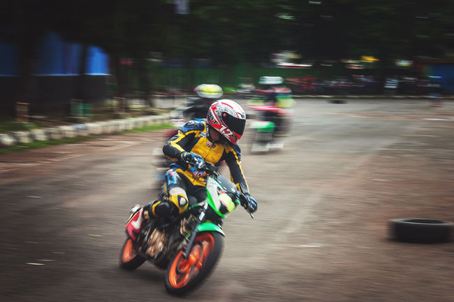 Practising before the final raceThe Color Of Sport Riding Motion Speed Street Blurred Motion Selective Focus Focus On Foreground On The Move Panning EyeEm Best Shots Eye4photography  Sport Sports Photography Roadracing Taking Photos People And Places