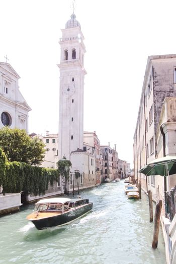 Venice, Italy Venezia Canals Travel Destinations Canals And Waterways