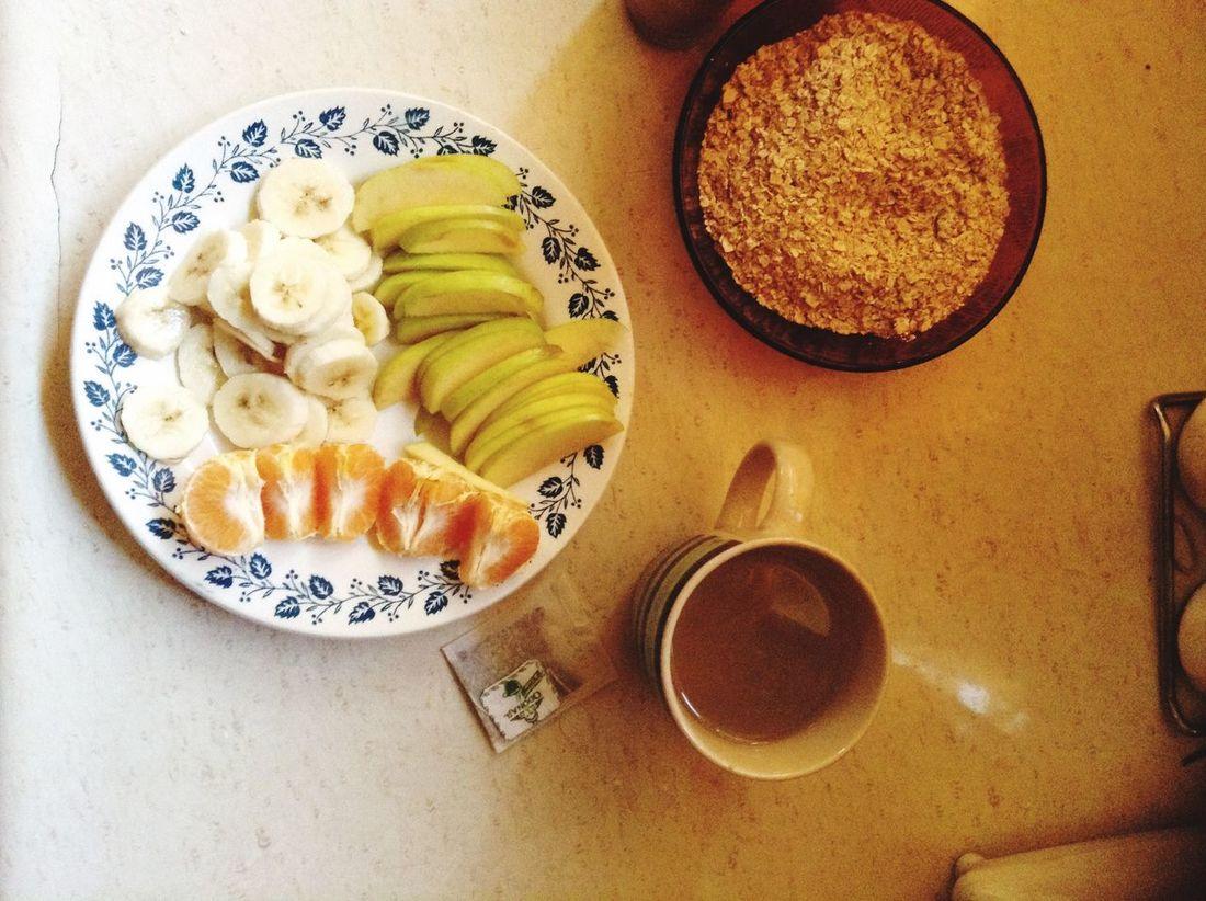 Breakfast Taking A Break Happy Days Healthy Food Spearminttea Odonaji My Favorite