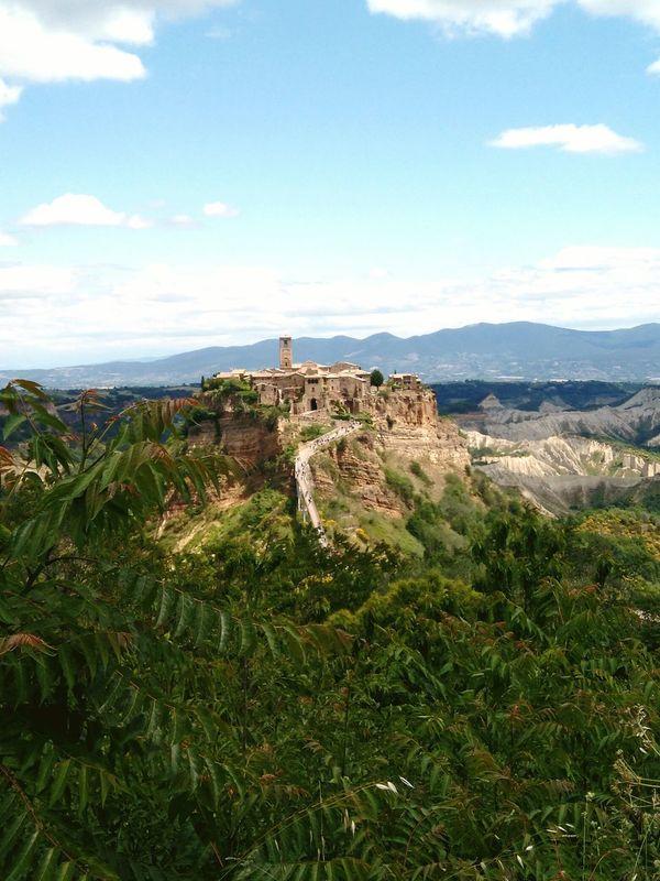 No People Day Landscape Outdoors Nature Sky Ancient Civilization La Citta Che Muore Italia Bagnoregio Civita Lazio,Italy