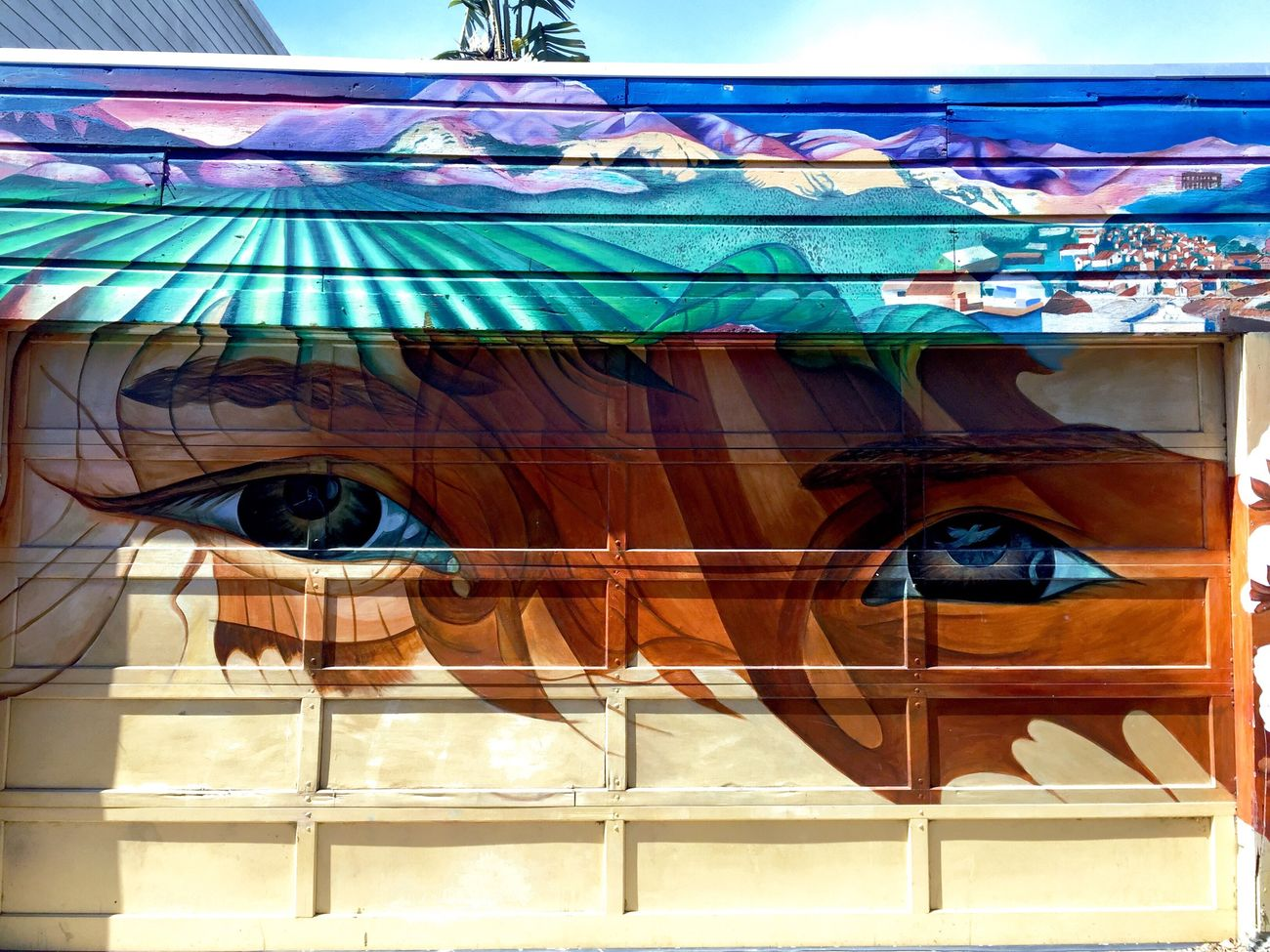 Eyes Without a Face. IPhoneography Mission Murals