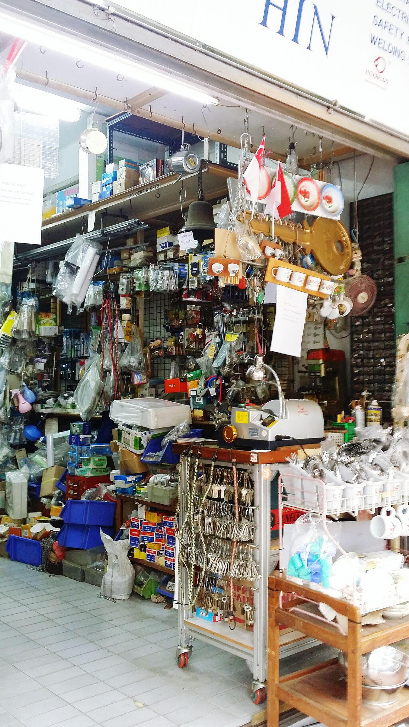 Traditional Provision Shop Tiong Bahru Singapore Shop