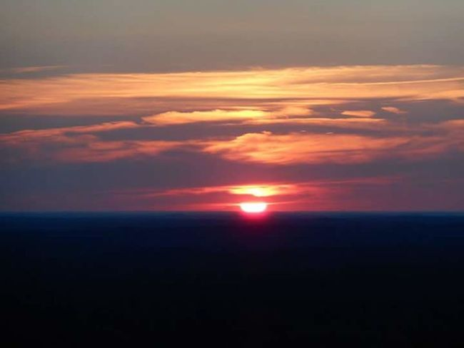 Sunset Over The Mountain Dusk Sky Beauty In Nature Pine Mountain! Pine Mountain Georgia Natures Diversities