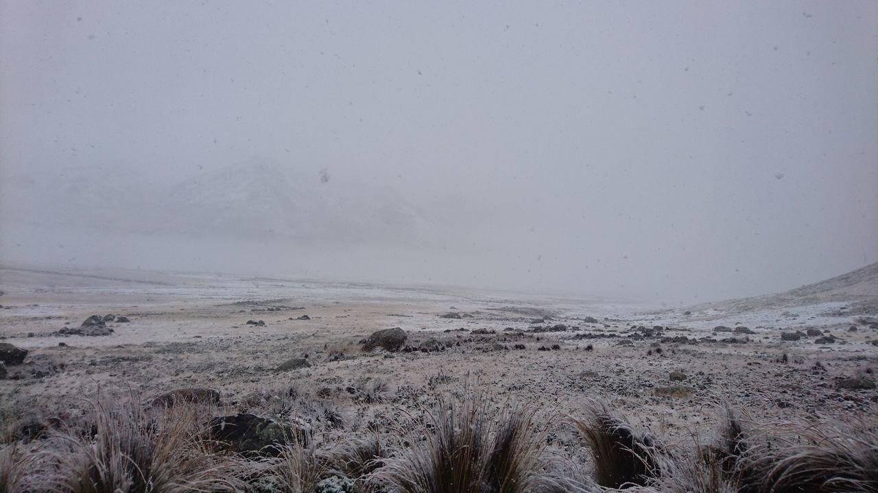 viajando mientras neva Snow ❄ Traveling Mountain