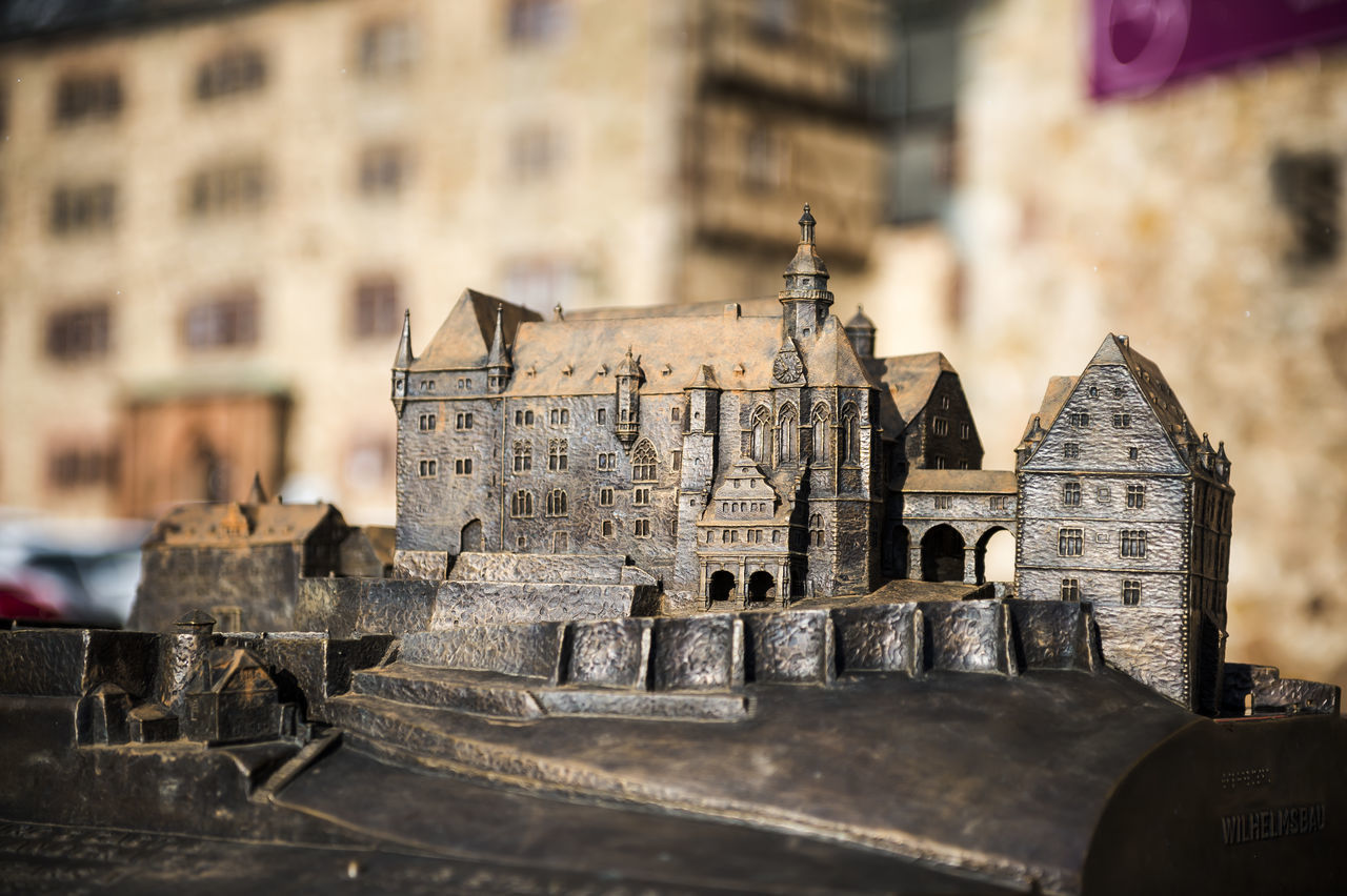 Architecture Building Exterior Built Structure City Cityscape Cultures Day History Horizontal Marburg An Der Lahn Marburg Castle Marburger Schloss Miniature Miniature Castle No People Outdoors Travel Destinations