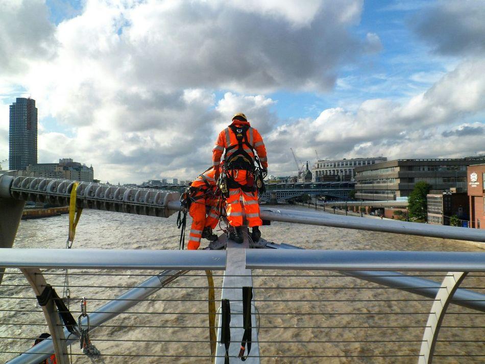 Beautiful stock photos of london, Architecture, Bridge, Bridge - Man Made Structure, Building Exterior