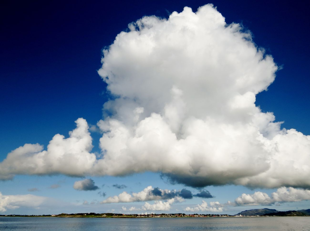 Beauty In Nature Big Clouds Blue Brekstad CENTRAL NORWAY Cloud - Sky Clouds And Sky Cloudscape Coast Line  Coastal Life Coastal_collection Coastline Coastline Landscape Day Nature Norway Outdoors Scenics Sea Sky Tranquility Water