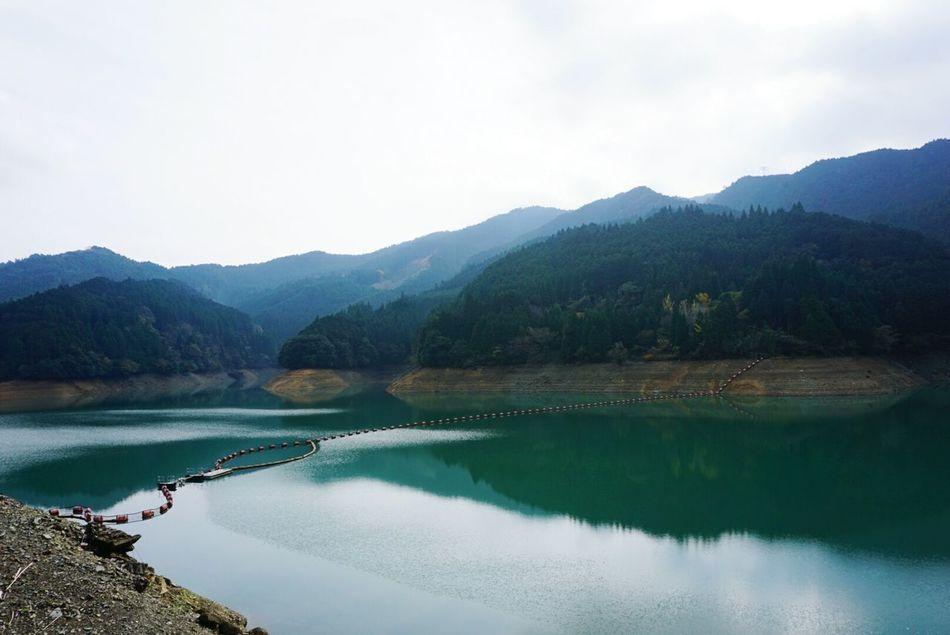 江川ダム。 Fukuoka,Japan Akizuki Dam Nature Photography Looking At Camera Shorttrip Talking Photo Water Reflections Water Looking Good