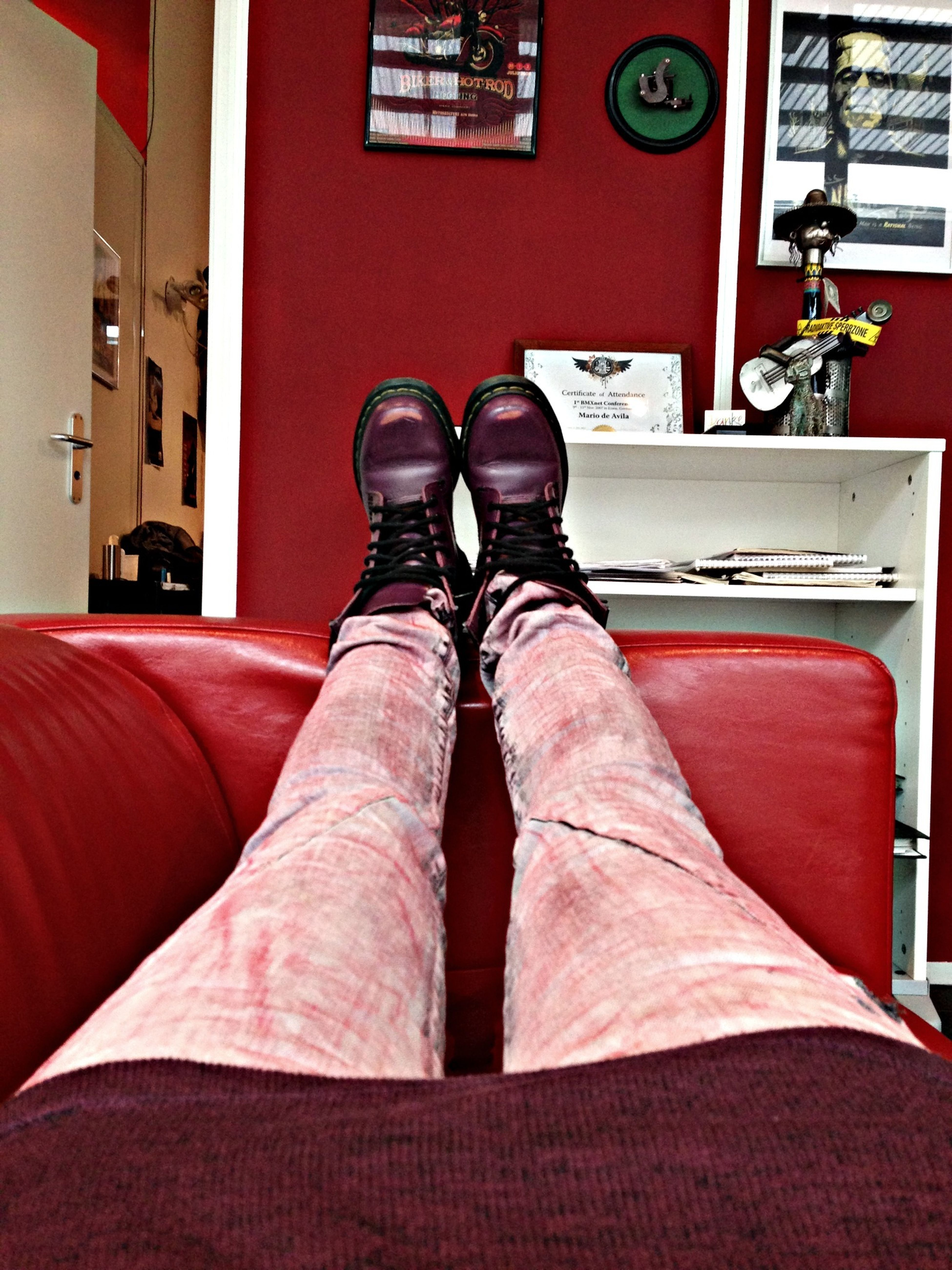 Chilling Dr Martens Pleasejeans Tattoo Office