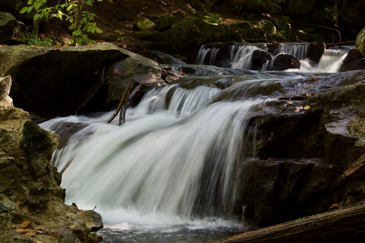 Beauty Beauty In Nature Travel Destinations Park Canada Forest Traveling Gatineau Park Landscape Nature No People Long Exposure Waterfall Water Lost In The Landscape