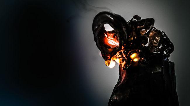 Art ArtWork Best EyeEm Shot Black Bottle Burn Burning Close-up Creative Creative Light And Shadow CreativePhotographer Creativity Dark Darkness And Light Day Depression Flame Heat - Temperature No People Smoke - Physical Structure Tear