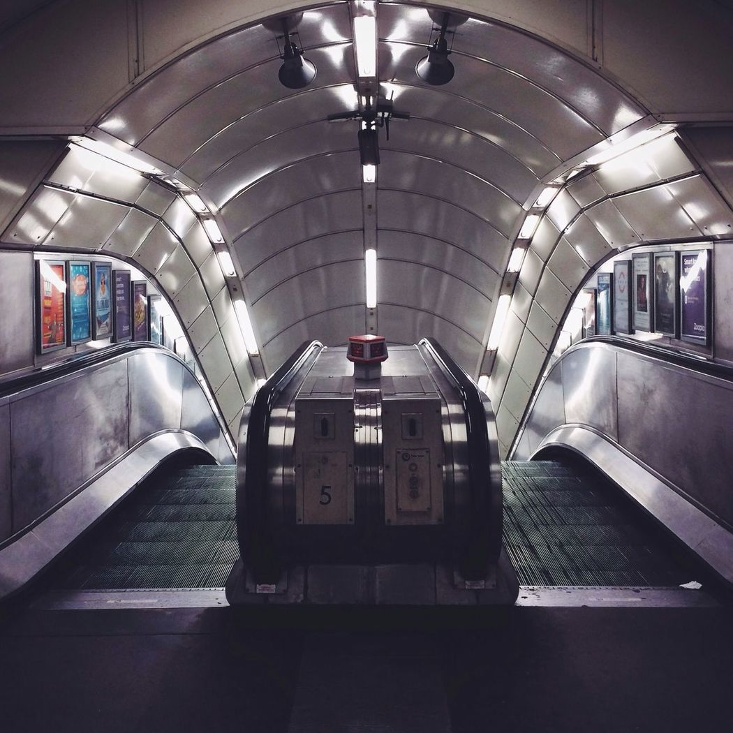 // Begin // London Underground London Perspectives Symmetry