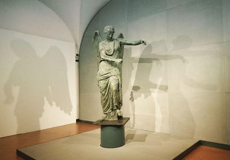 La vittoria alata. Architecture Art History Ancient Civilization Roman Brescia Museum