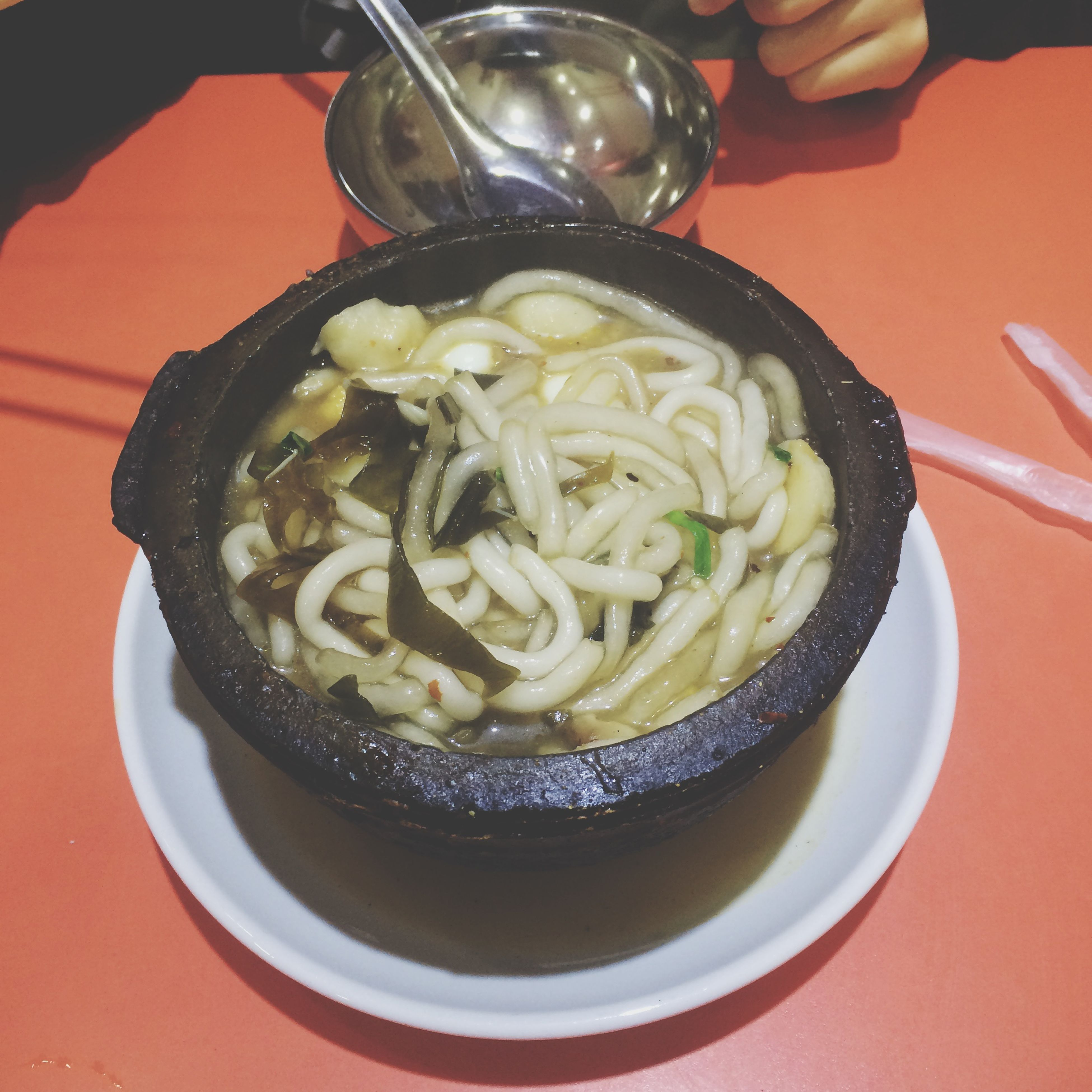 indoors, food and drink, food, freshness, ready-to-eat, plate, table, bowl, still life, healthy eating, serving size, meal, spoon, close-up, indulgence, high angle view, noodles, fork, temptation, served