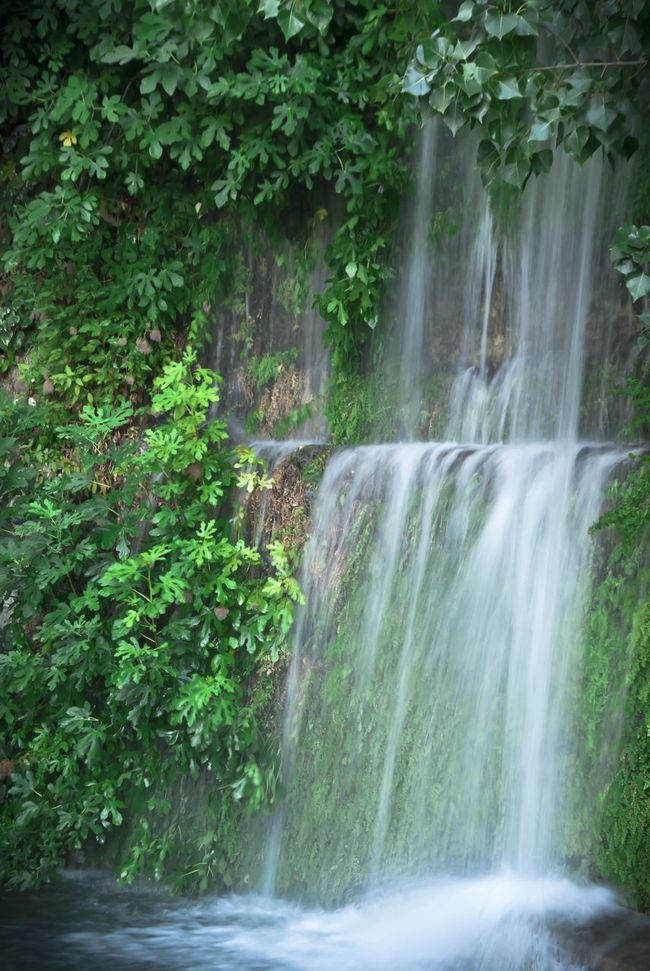 No People Letur Water Waterfall Green Outdoors Tranquility Non-urban Scene Albacete Agua Cascada