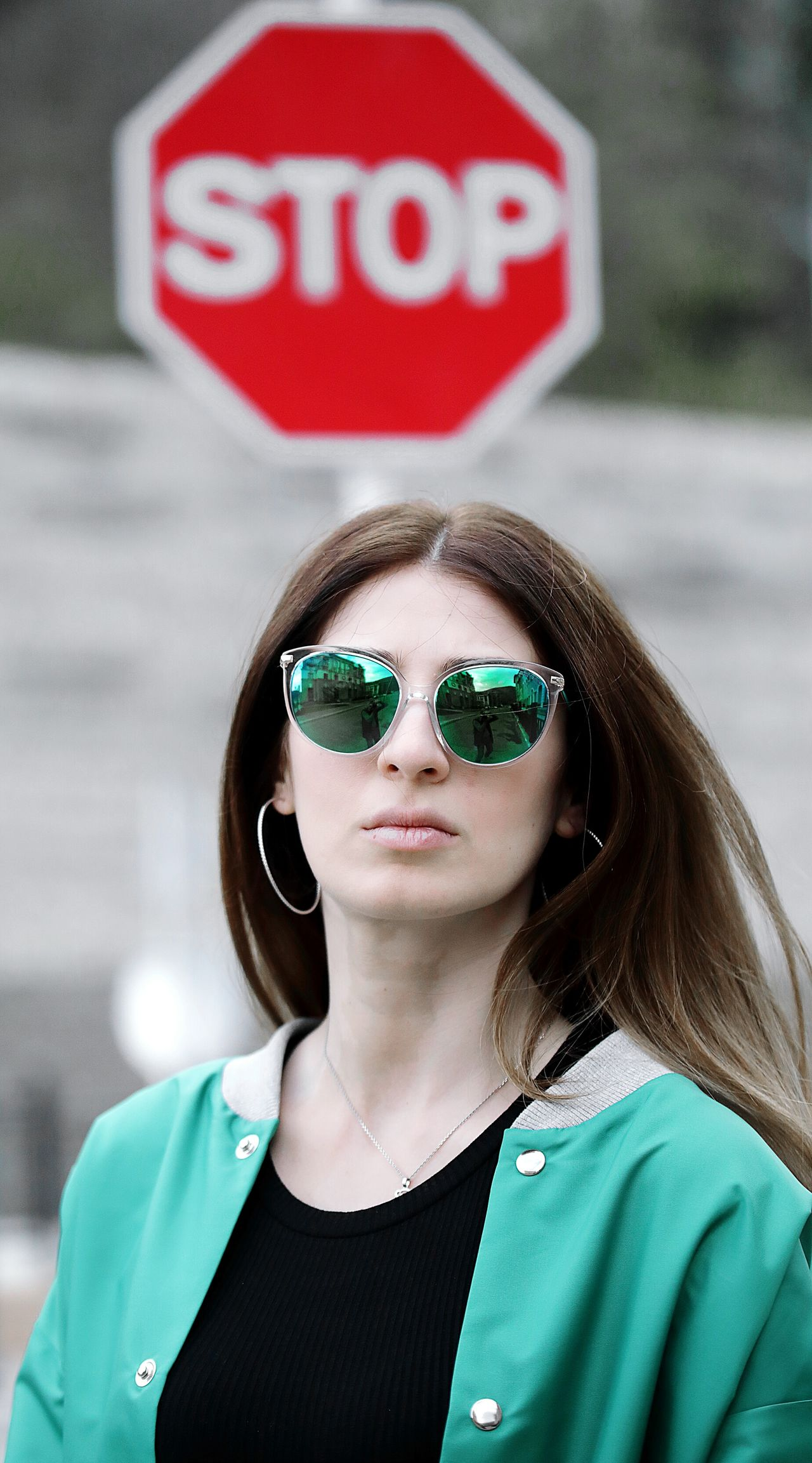 Streetphotography Street Photography Streetphoto Sunglasses One Woman Only Young Adult One Person Casual Clothing Portrait Only Women Young Women One Young Woman Only Green Color Women Outdoors Front View Day Krasnaya Polyana Gorkygorod Sochi Russia Stop Sign EyeEm Diversity The Street Photographer - 2017 EyeEm Awards The Portraitist - 2017 EyeEm Awards EyeEmNewHere EyeEmNewHere BYOPaper! The Portraitist - 2017 EyeEm Awards