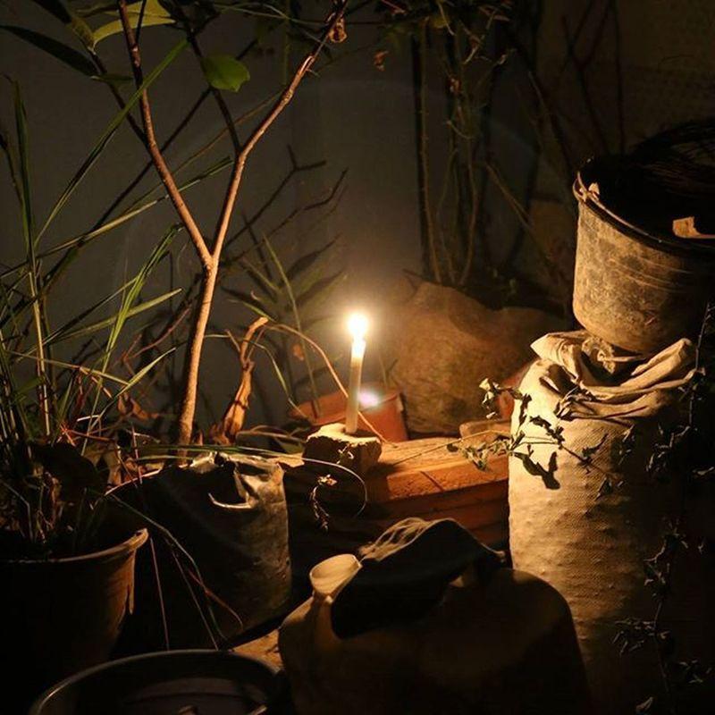 Pojokanrumah   pareumlampu Nofilter Canon EOS Nolight Night Candle Vscocam Vscogood Vscogrid Vscobdg Vscoind