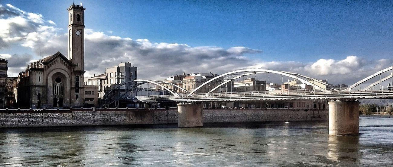 Bridge Puente Riu Rio Ebro