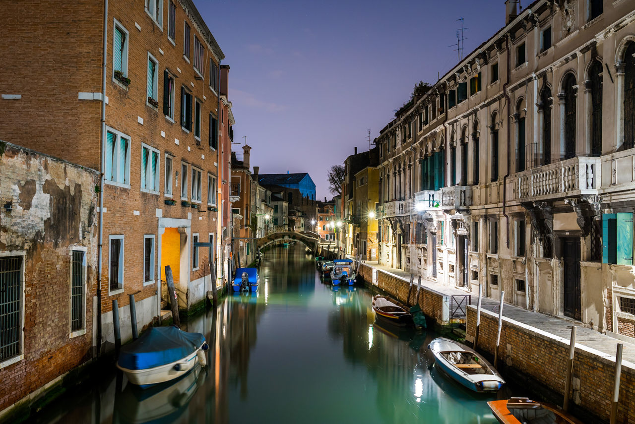 Architecture Business Finance And Industry Canal Canals City City Europe Gondola Gondola - Traditional Boat Italian Lagoon Love Nautical Vessel Night No People Outdoors Reflection Retail Place Romance Sky Travel Destinations Water