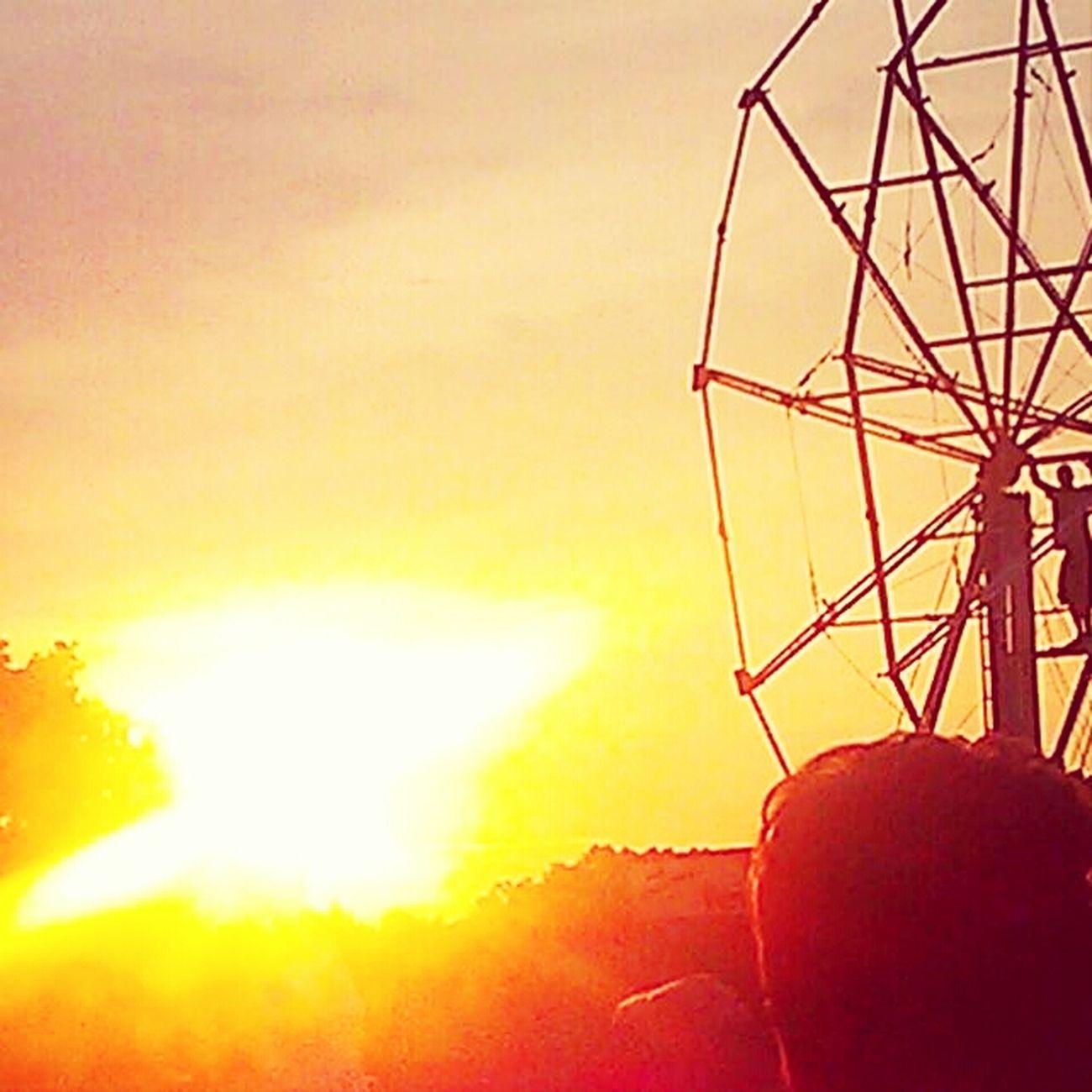 #sunset #Ferriswheels #carnival