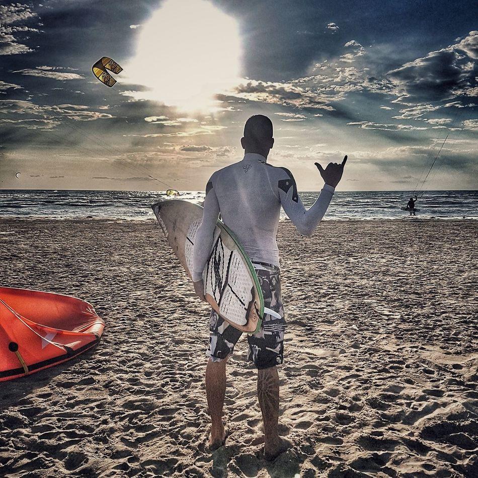 Beach Only Men Sea One Man Only Surf Kitesurfing Kite Travel TCPM Art Is Everywhere EyeEmNewHere