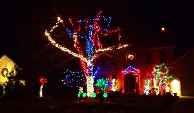Lights around Westlake.